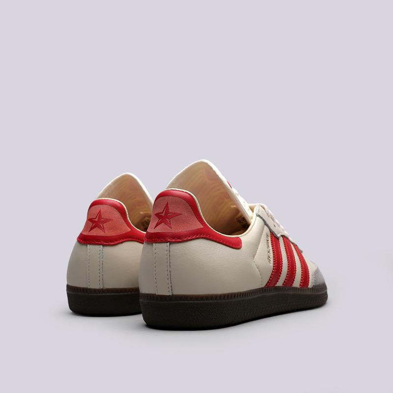 мужские бежевые кроссовки adidas samba classic og CQ2216 - цена, описание,  фото 3 33ee7b1afc3