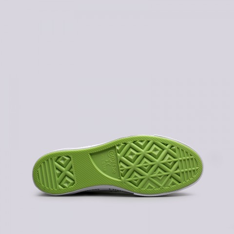 зелёные  кроссовки converse one star ox 159816 - цена, описание, фото 2