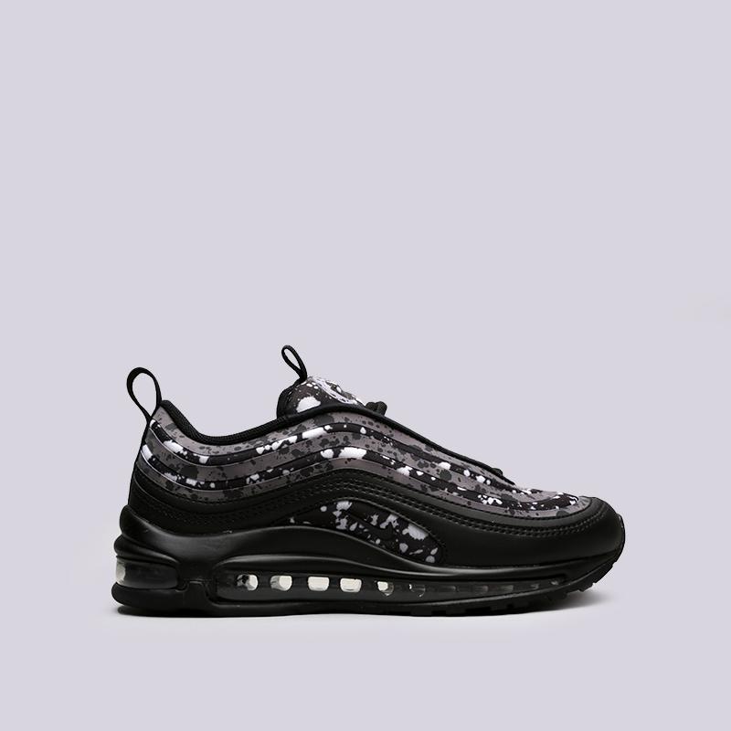Кроссовки Nike WMNS Air Max 97 UL 17 PRMКроссовки lifestyle<br>Синтетика, текстиль, резина<br><br>Цвет: Чёрный<br>Размеры US: 6;6.5;7;7.5;8.5;9<br>Пол: Женский