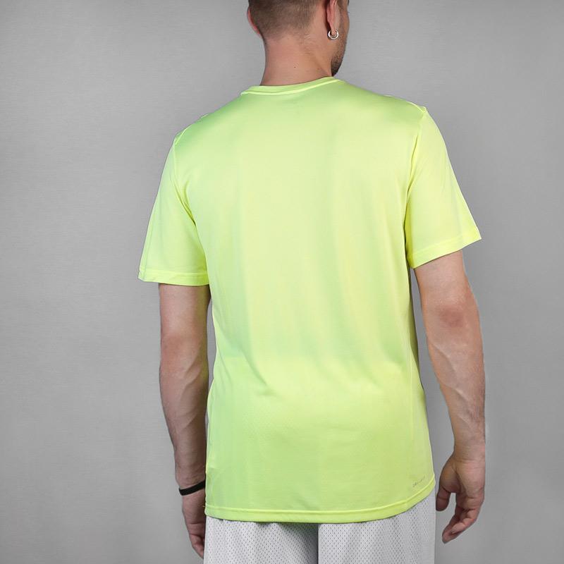 мужскую салатовую  футболка nike breathe 832835-703 - цена, описание, фото 2