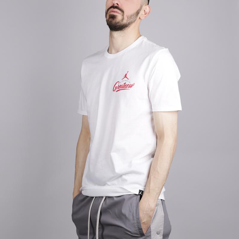 Купить Мужская футболка Jordan In The Midst Of Greatness, Jordan, 916040-100