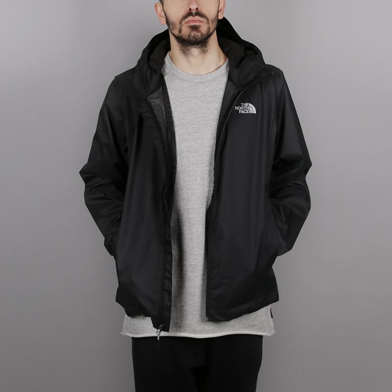 Куртка The North Face Quest JacketКуртки, пуховики<br>100% полиэстер<br><br>Цвет: Черный<br>Размеры US: S;M;L<br>Пол: Мужской
