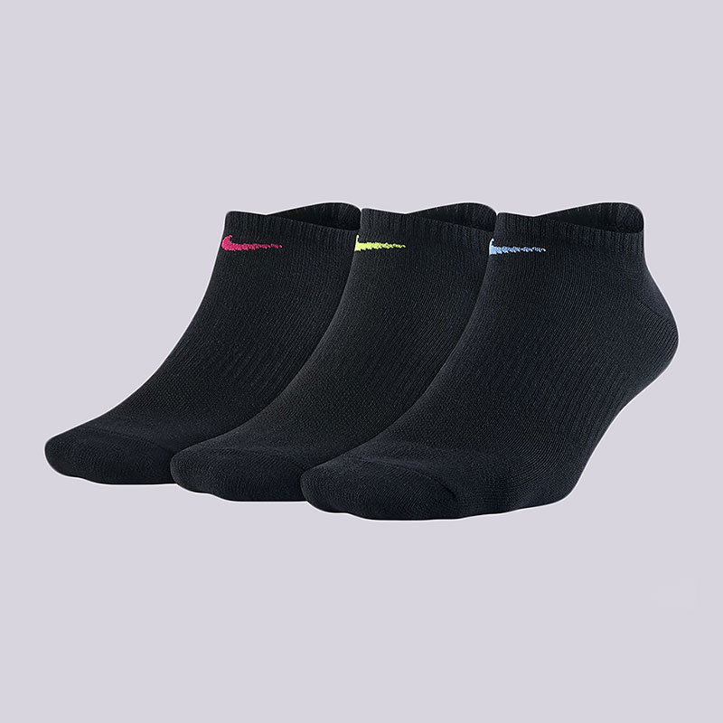 Носки Nike Everyday Lightweight Training SocksНоски<br>68%  хлопок, 30% полиэстер, 2% эластан<br><br>Цвет: Черный<br>Размеры US: M;S<br>Пол: Женский
