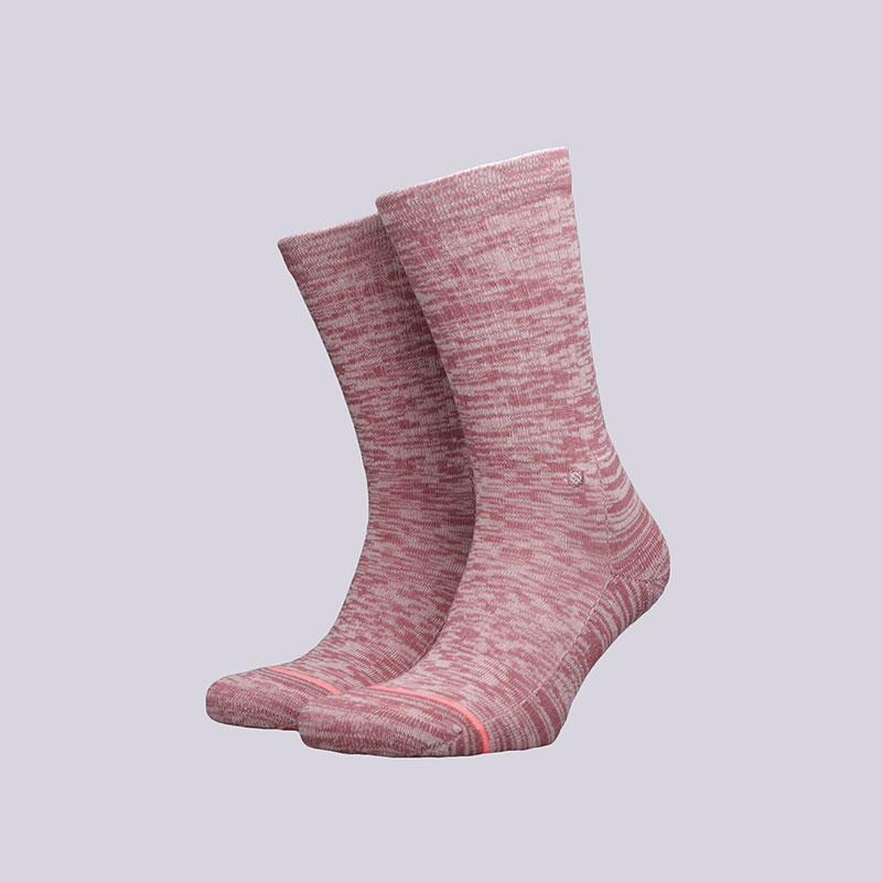 Носки Stance Uncommon ClassicНоски<br>Хлопок, полиестер, нейлон, эластан<br><br>Цвет: Розовый<br>Размеры : M<br>Пол: Женский