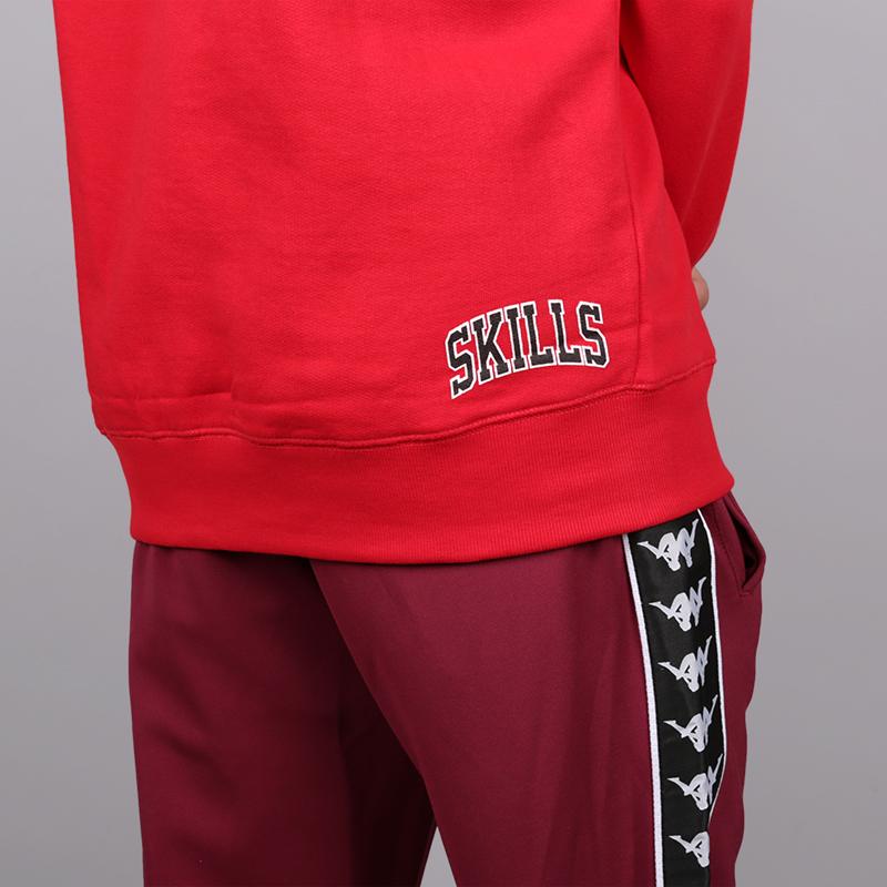 мужскую красную  толстовка skills chicago skills-chicago-red - цена, описание, фото 4
