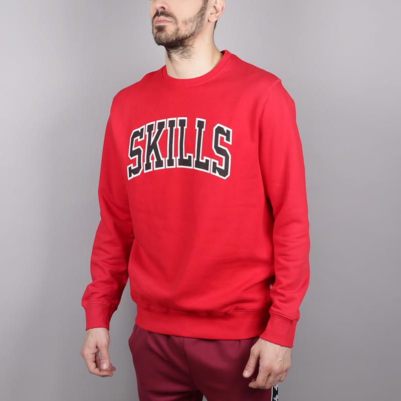 мужскую красную  толстовка skills chicago skills-chicago-red - цена, описание, фото 2