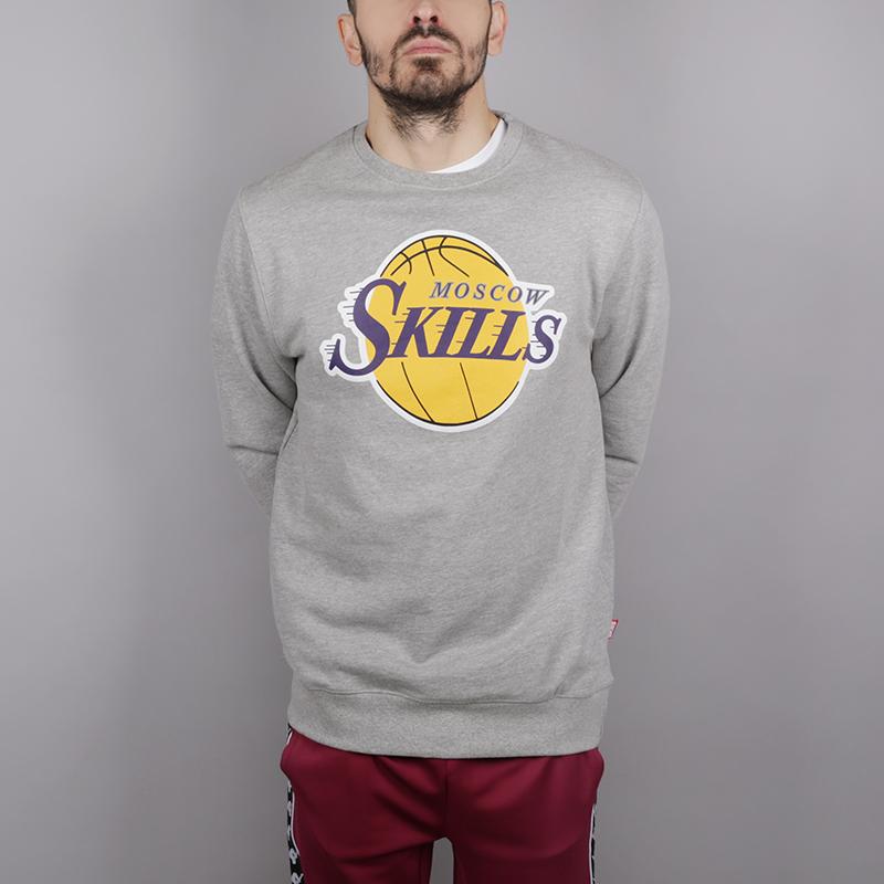 Толстовка Skills LAТолстовки свитера<br>Хлопок<br><br>Цвет: Серый<br>Размеры : 2XL;XL;L;XS;M;S<br>Пол: Мужской