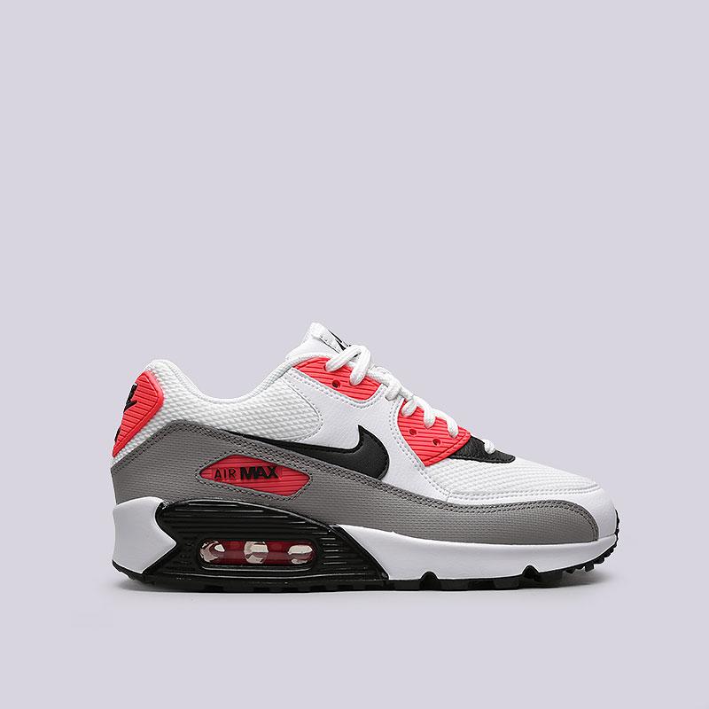 ecb0922e71d5 женские белые, черные, серые, кораловые кроссовки nike wmns air max 90  325213-