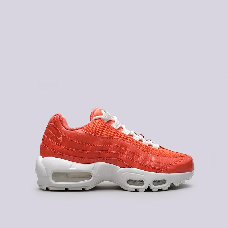 872c2cdc женские оранжевые кроссовки nike wmns air max 95 prm 807443-802 - цена,  описание