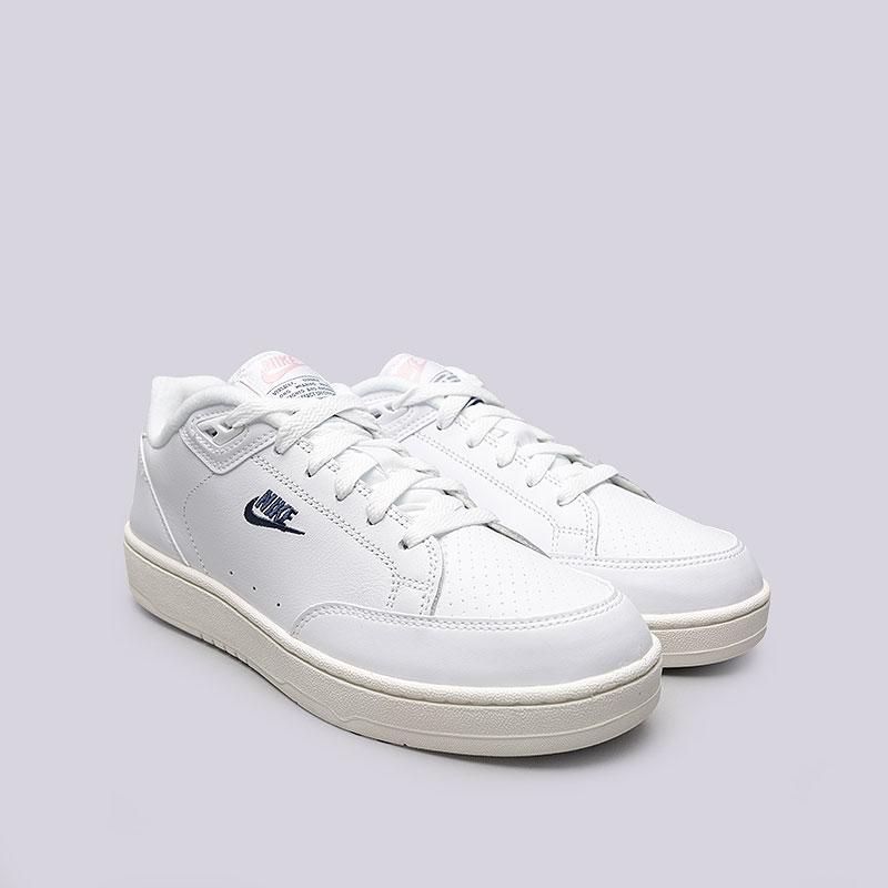 b6036087 мужские белые кроссовки nike grandstand ii AA2190-100 - цена, описание,  фото 2