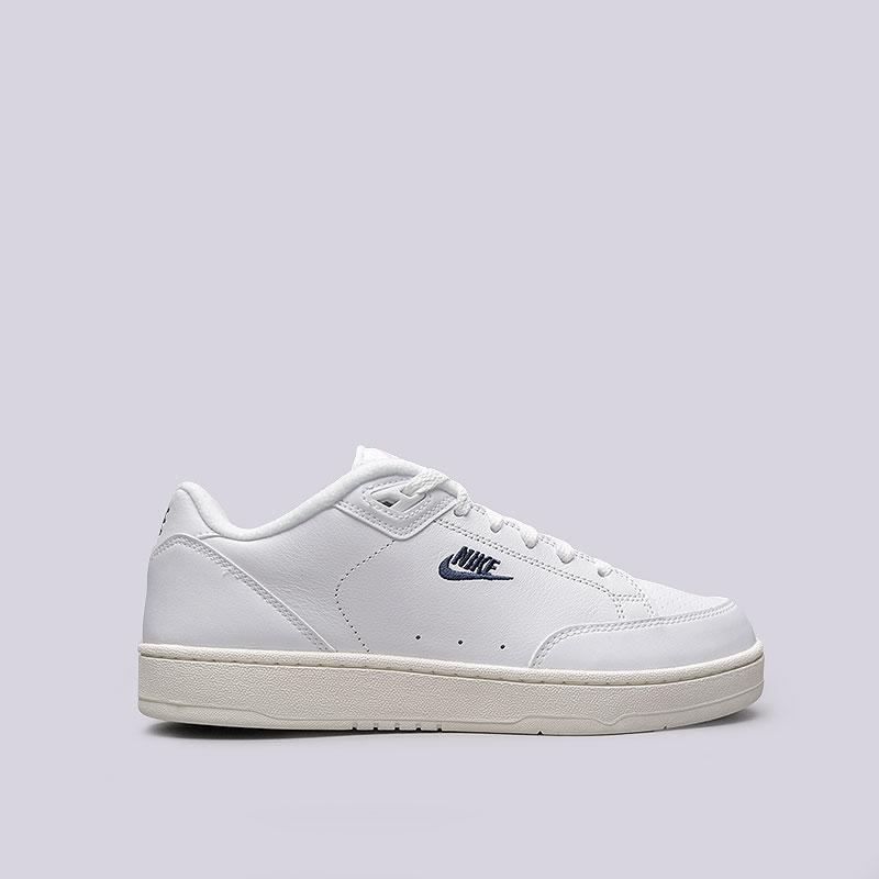 Кроссовки Nike Grandstand IIКроссовки lifestyle<br>Кожа, синтетика, текстиль, резина<br><br>Цвет: Белый<br>Размеры US: 11;9;11.5;12;8<br>Пол: Мужской