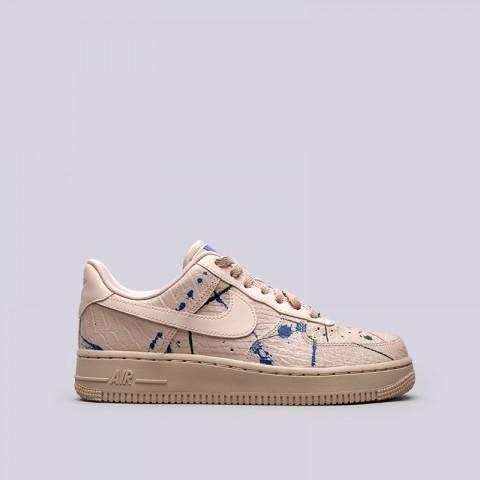 Купить женские бежевые  кроссовки nike wmns air force 1 '07 lx в магазинах Streetball - изображение 1 картинки