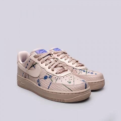 Купить женские бежевые  кроссовки nike wmns air force 1 '07 lx в магазинах Streetball - изображение 3 картинки