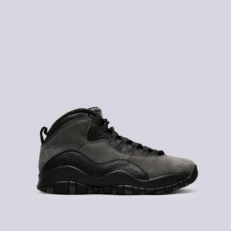 мужские чёрные кроссовки jordan x retro 310805-002 - цена, описание, фото 1 f59a7f12236