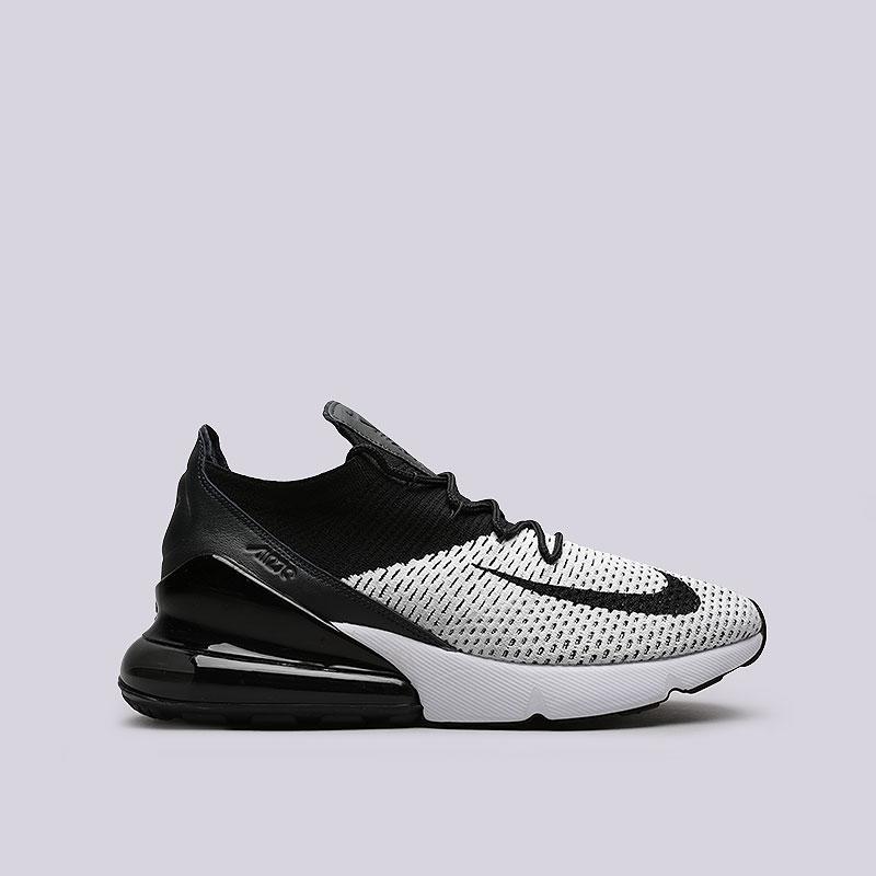 dd40ab06b662 Nike Air Max 270 Flyknit Black
