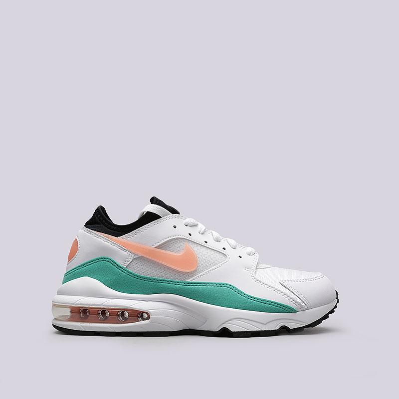 Кроссовки Nike Air Max 93Кроссовки lifestyle<br>Текстиль, резина, пластик<br><br>Цвет: Белый, бирюзовый, оранжевый<br>Размеры US: 8;8.5;9;9.5;10;10.5;11;11.5;12<br>Пол: Мужской