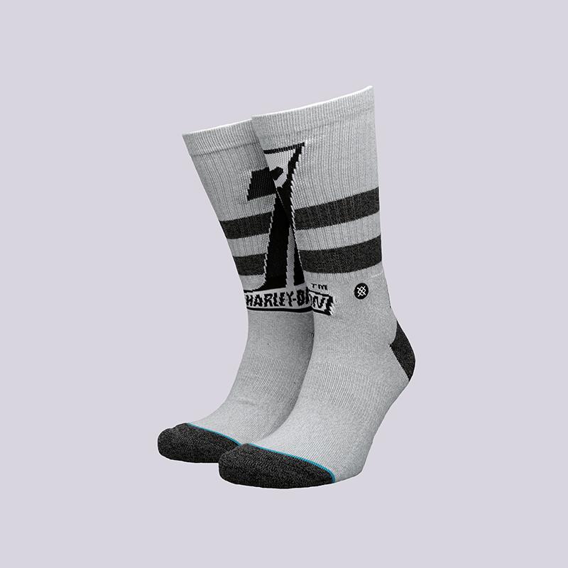 мужские серые  носки stance dark custom M556C17DAR- grey - цена, описание, фото 1