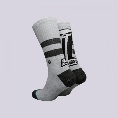 мужские серые  носки stance dark custom M556C17DAR- grey - цена, описание, фото 2