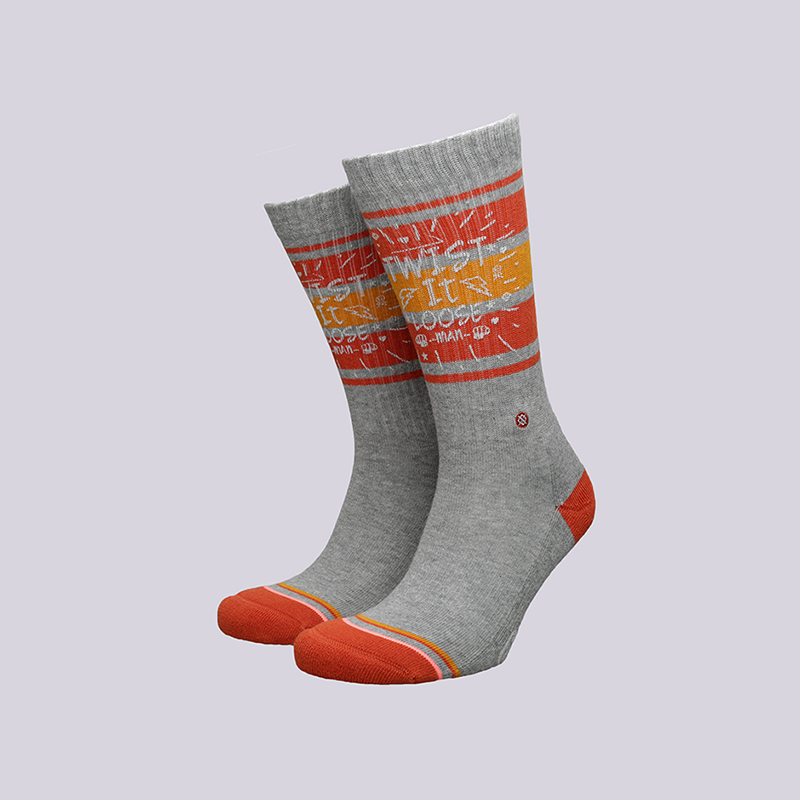 Носки Stance Twist ITНоски<br>Хлопок, спандекс<br><br>Цвет: Серый, оранжевый<br>Размеры : O/S<br>Пол: Женский