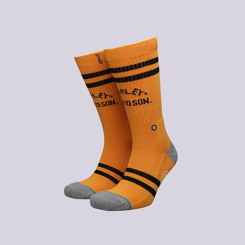 мужские оранжевые  носки stance road boss M311C15ROA- orange - цена, описание, фото 1