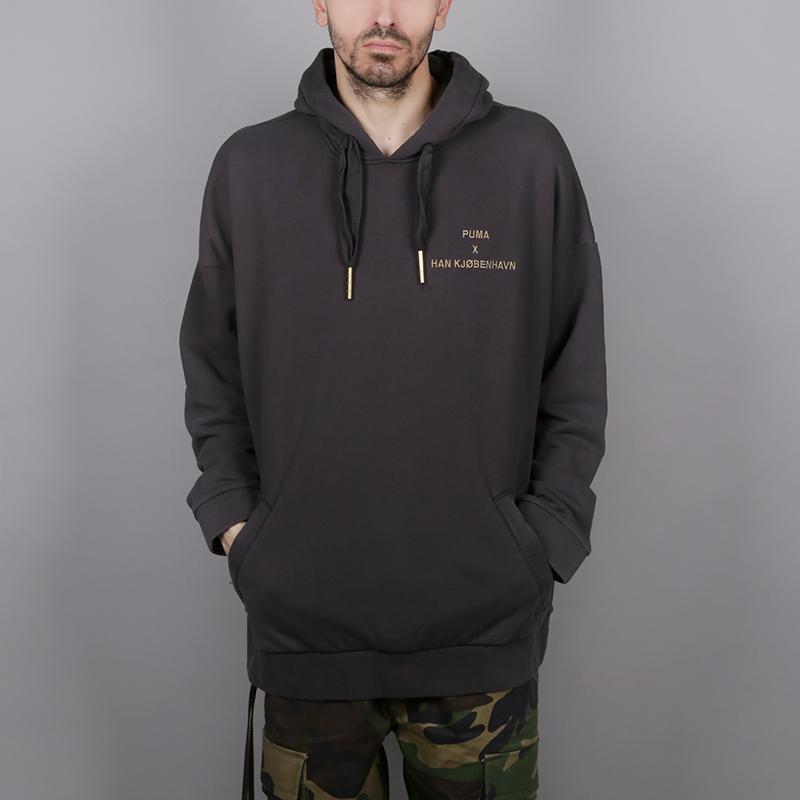 Толстовка Puma HAN HoodieТолстовки свитера<br>Хлопок<br><br>Цвет: Серый<br>Размеры UK: XL<br>Пол: Мужской