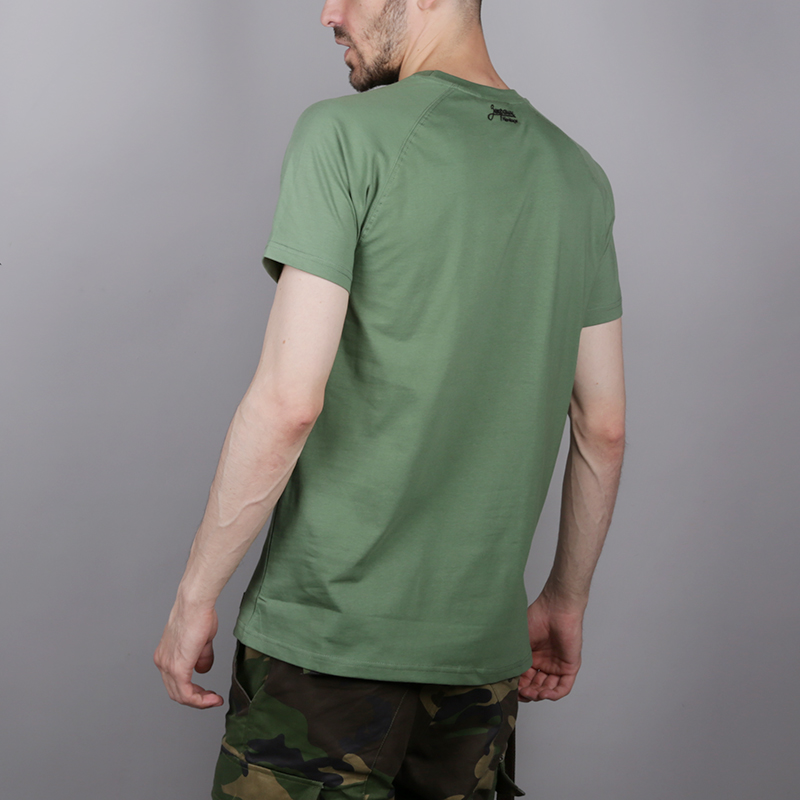 мужскую зелёную  футболка запорожец heritage спорт 2 Sport 2-green - цена, описание, фото 5