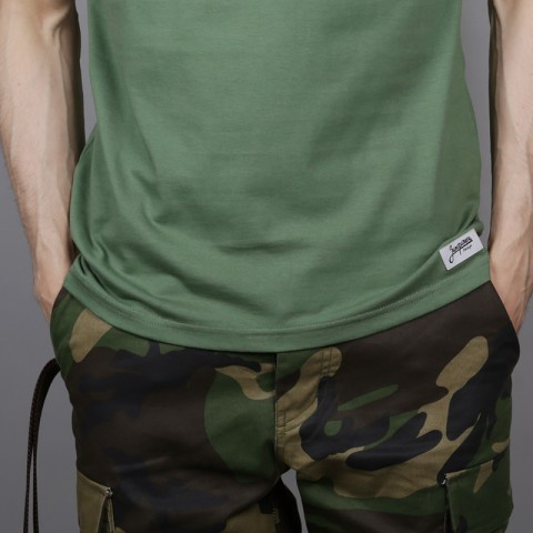 мужскую зелёную  футболка запорожец heritage спорт 2 Sport 2-green - цена, описание, фото 4