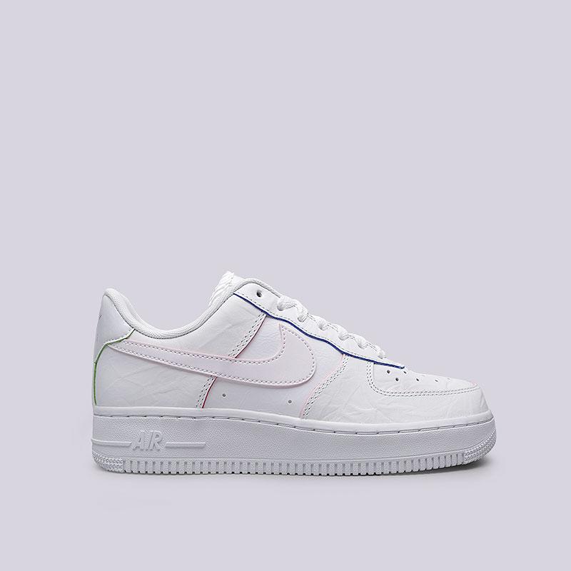 Кроссовки Nike WMNS Air Force 1 LOКроссовки lifestyle<br>Кожа, синтетика, текстиль, резина<br><br>Цвет: Белый<br>Размеры US: 6;6.5;7;7.5;8;8.5;9<br>Пол: Женский