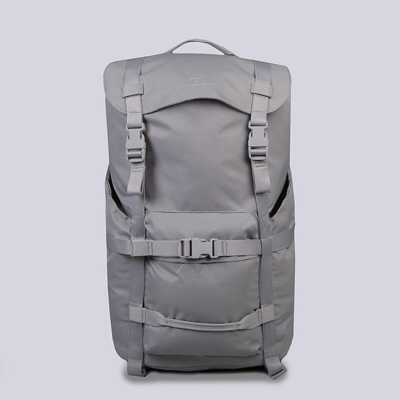 Рюкзак Puma HAN KJ&#216;BENHAVN OVERSIZE BACKPACKСумки, рюкзаки<br>Нейлон, полиэстер<br><br>Цвет: Серый<br>Размеры UK: OS