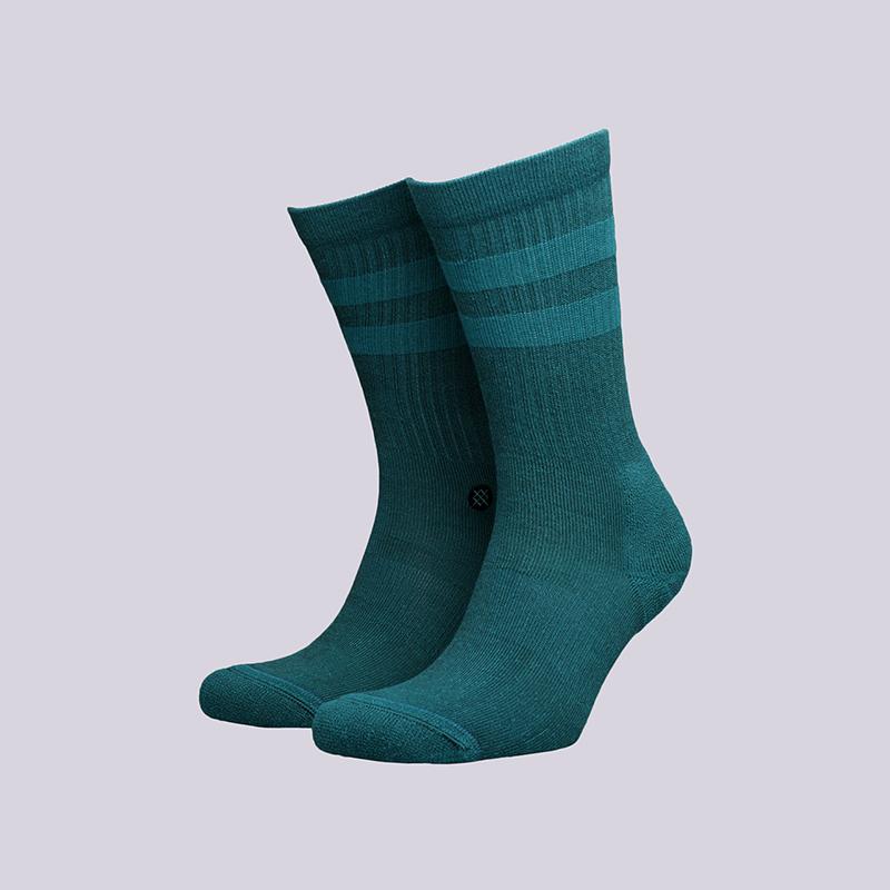 мужские зелёные  носки stance joven M556C17JOV-TEA Teal - цена, описание, фото 1