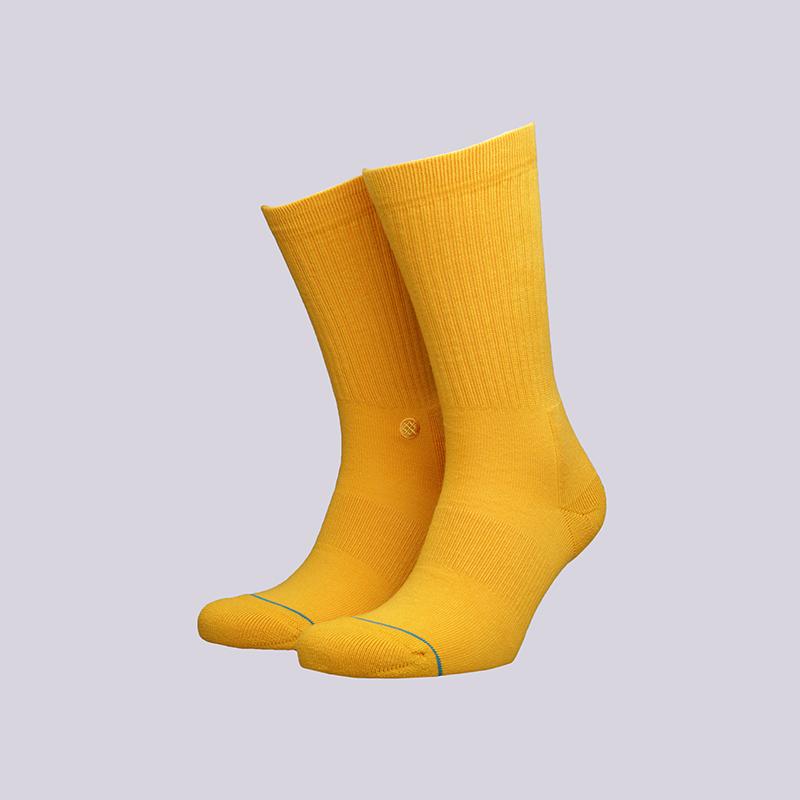 Носки Stance IconНоски<br><br><br>Цвет: Жёлтый<br>Размеры : M<br>Пол: Мужской