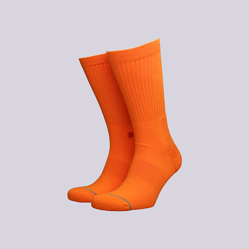 Носки Stance IconНоски<br>Хлопок, полиестер<br><br>Цвет: Оранжевый<br>Размеры : L;M<br>Пол: Мужской
