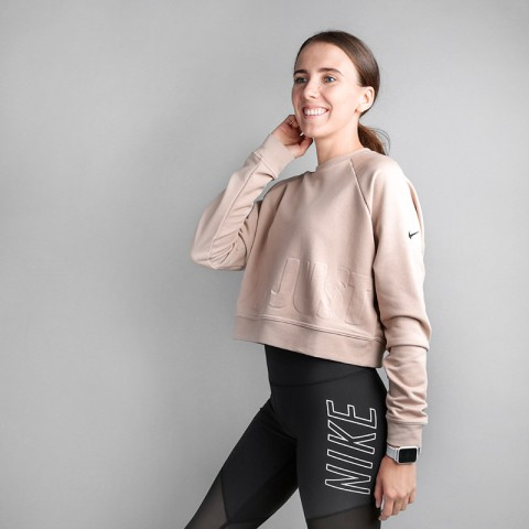 Толстовка Nike LONGSLEEVE TRAINING SWEATSHIRT