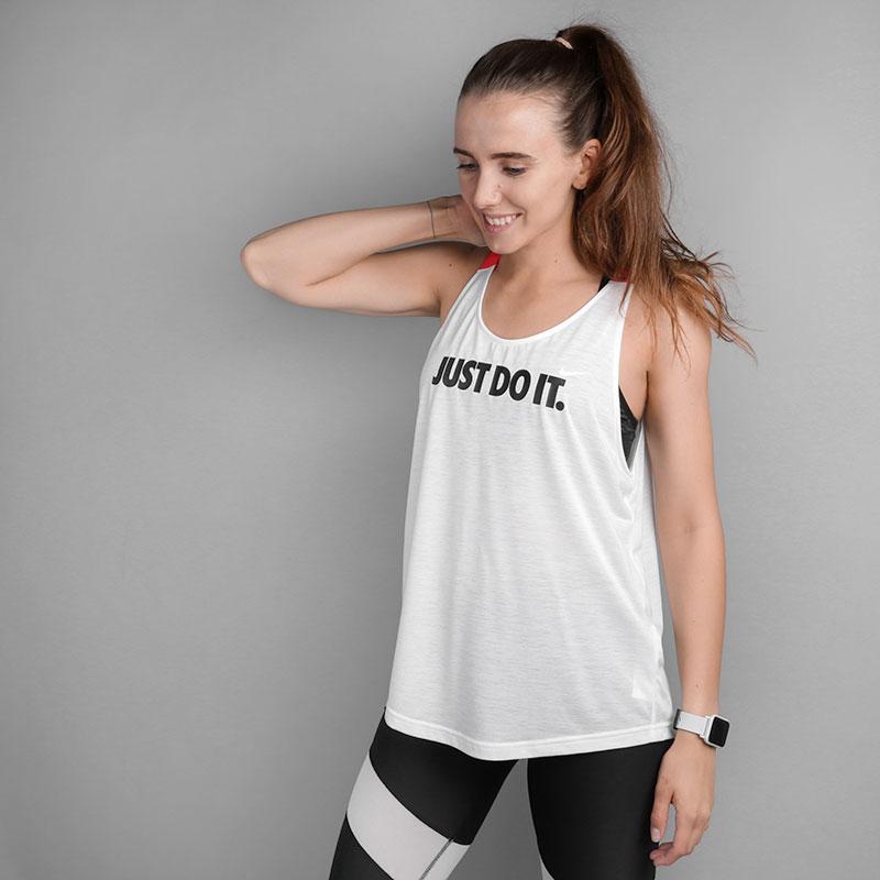2a107afff5d79e Женская майка Breathe Tank Elastika Grx от Nike (889128-101) купить ...