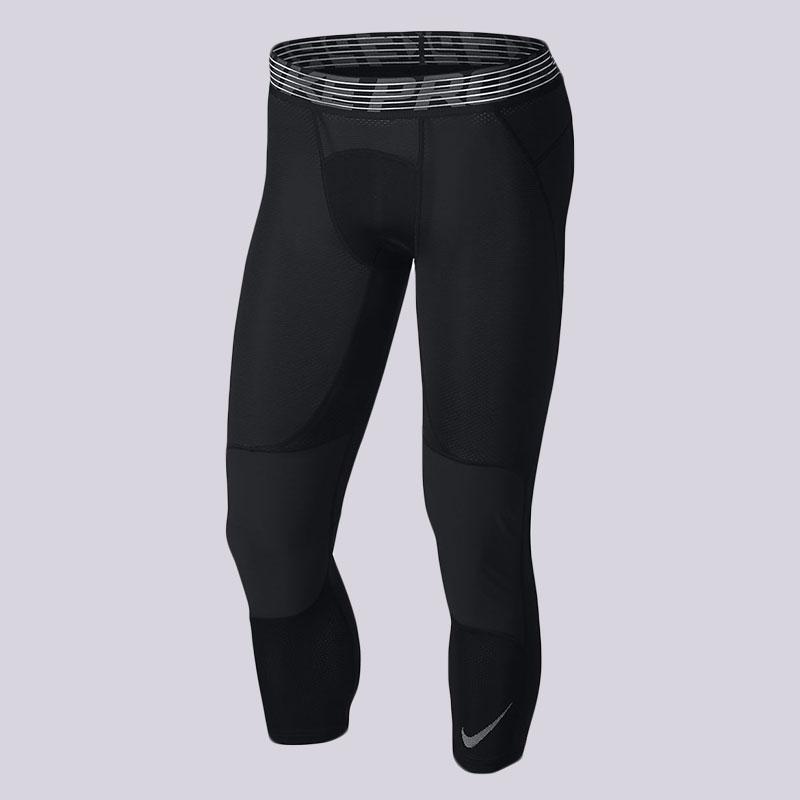 Тайтсы Nike Pro HyperCool Mens 3/4 Basketball TightsКомпрессионное белье<br>86% полиэстер, 14% эластан<br><br>Цвет: Черный<br>Размеры US: 2XL;XL;L;M;S<br>Пол: Мужской