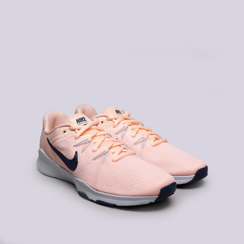 розовые  кроссовки nike wmns zoom condition tr 2 909011-800 - цена, описание, фото 3