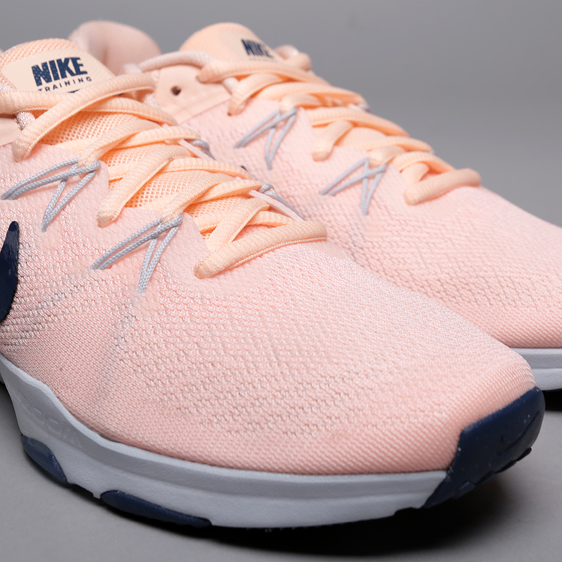 розовые  кроссовки nike wmns zoom condition tr 2 909011-800 - цена, описание, фото 5