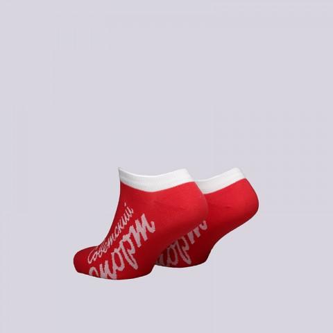 женские красные  носки запорожец heritage советский спорт W Спорт-корот-крас - цена, описание, фото 2