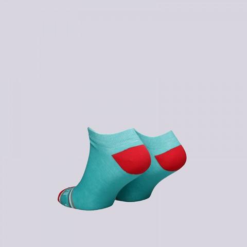 мужские голубые  носки запорожец heritage печать Печать-крт-св-зел - цена, описание, фото 2