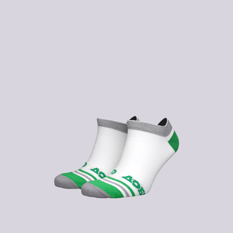мужские белые  носки запорожец heritage добро Добро-корот/бел/зел - цена, описание, фото 1
