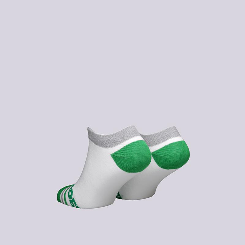 мужские белые  носки запорожец heritage добро Добро-корот/бел/зел - цена, описание, фото 2
