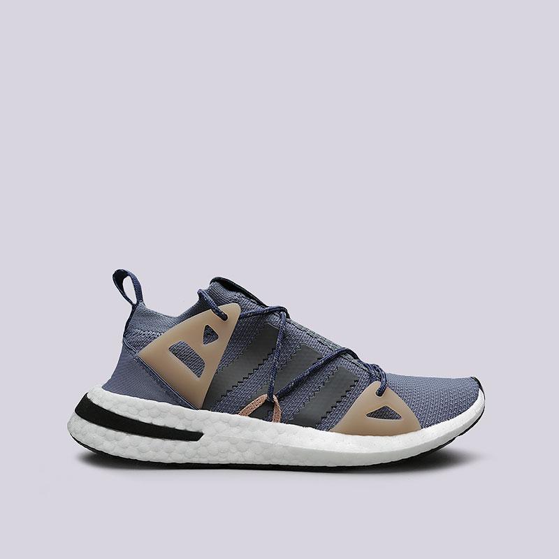 Кроссовки adidas Arkyn WКроссовки lifestyle<br>Текстиль, синтетика, резина<br><br>Цвет: Синий, бежевый<br>Размеры UK: 5;8.5;7;5.5;7.5;6;8;6.5<br>Пол: Женский