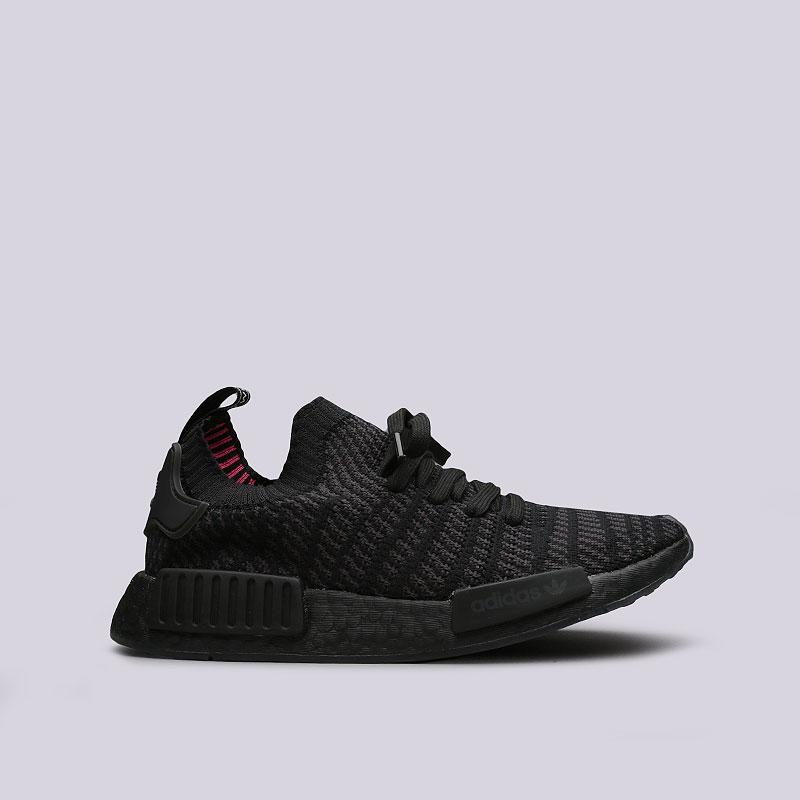 0b4687ba мужские черные кроссовки adidas nmd_r1 stlt pk CQ2391 - цена, описание,  фото 1