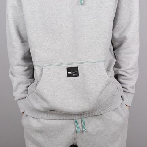 мужскую серую  толстовка adidas eqt 18 hoodie CV8598 - цена, описание, фото 2