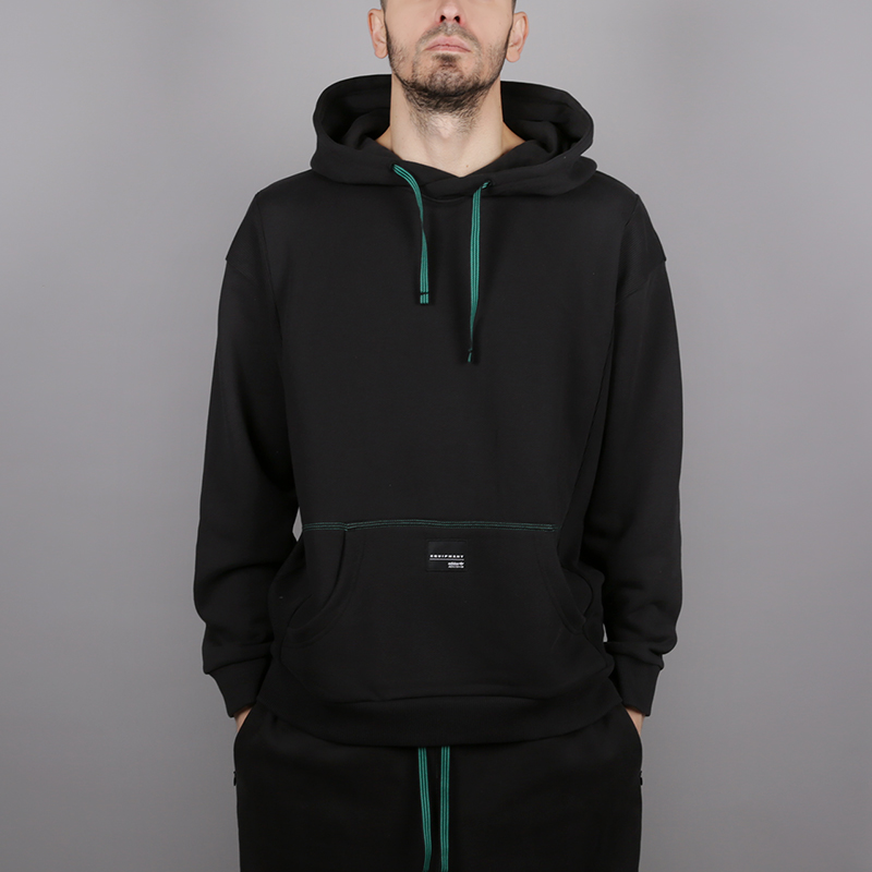 мужскую чёрную  толстовка adidas eqt 18 hoodie CD6856 - цена, описание, фото 1