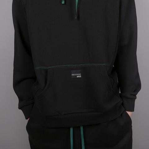 мужскую чёрную  толстовка adidas eqt 18 hoodie CD6856 - цена, описание, фото 4