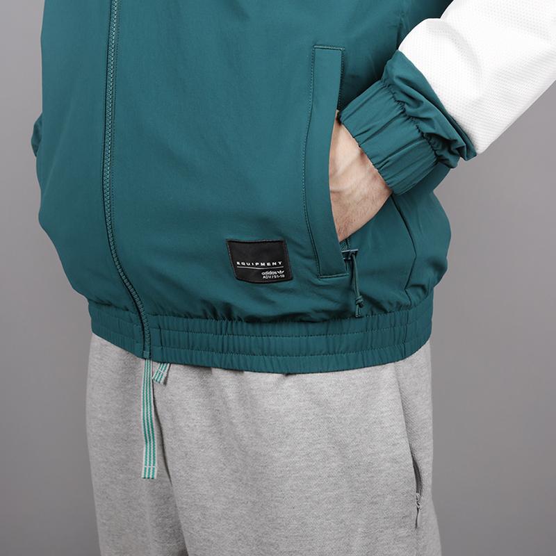 мужскую зелёную  олимпийка adidas eqt bold tt 2.0 CE2232 - цена, описание, фото 4