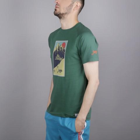 мужскую зелёную  футболка запорожец heritage эльбрус Elbrus 1-зеленый - цена, описание, фото 3