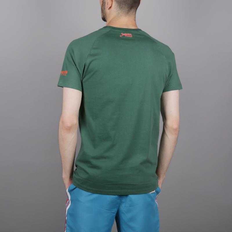 мужскую зелёную  футболка запорожец heritage эльбрус Elbrus 1-зеленый - цена, описание, фото 4