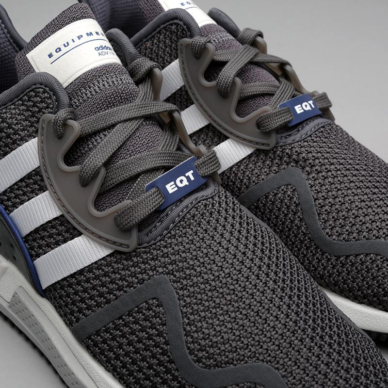 мужские серые  кроссовки adidas eqt cushion adv DA9533 - цена, описание, фото 4